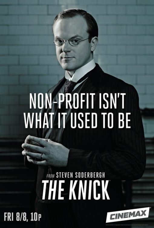 The Knick: Jeremy Bobb in un manifesto promozionale della prima stagione