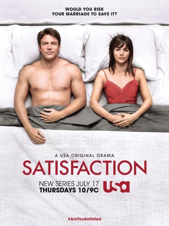 Satisfaction: la locandina della serie, prima stagione