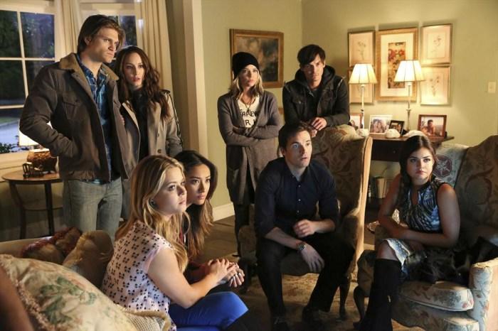 Pretty Little Liars: il cast nell'episodio Miss Me x 100