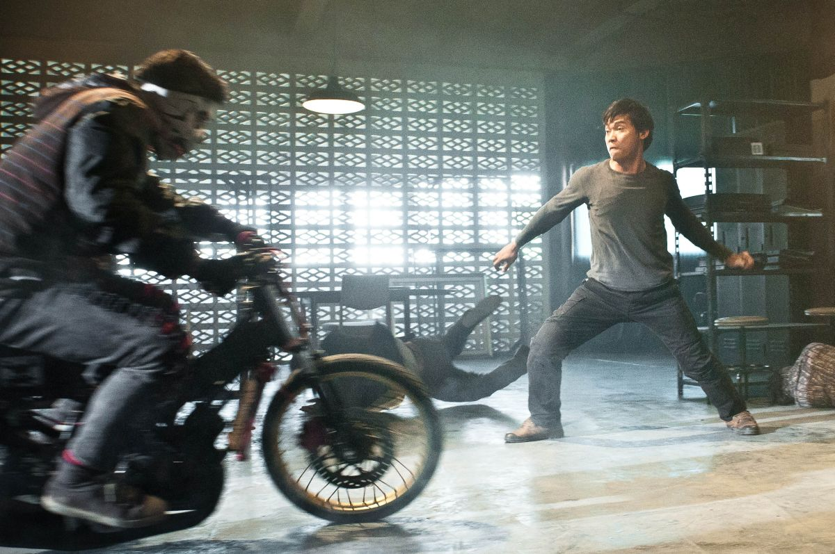 The Protector 2: Tony Jaa in una scena action del film