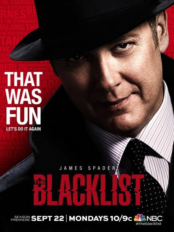 The Blacklist: James Spader in un manifesto promozionale