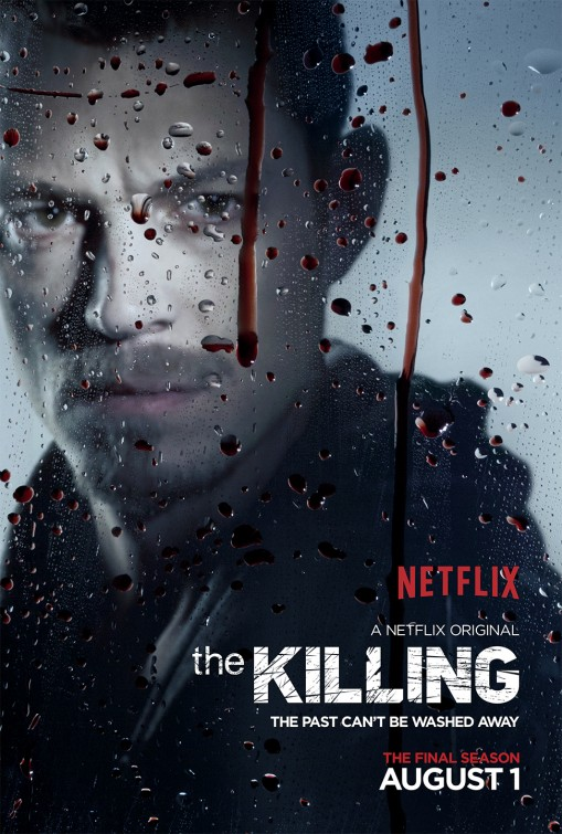 The Killing: Joel Kinnaman in un manifesto per la quarta stagione
