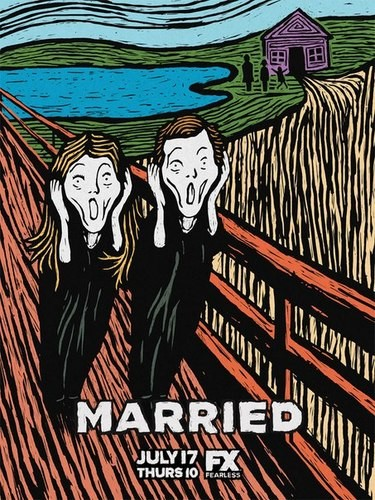 Married: la locandina della prima stagione