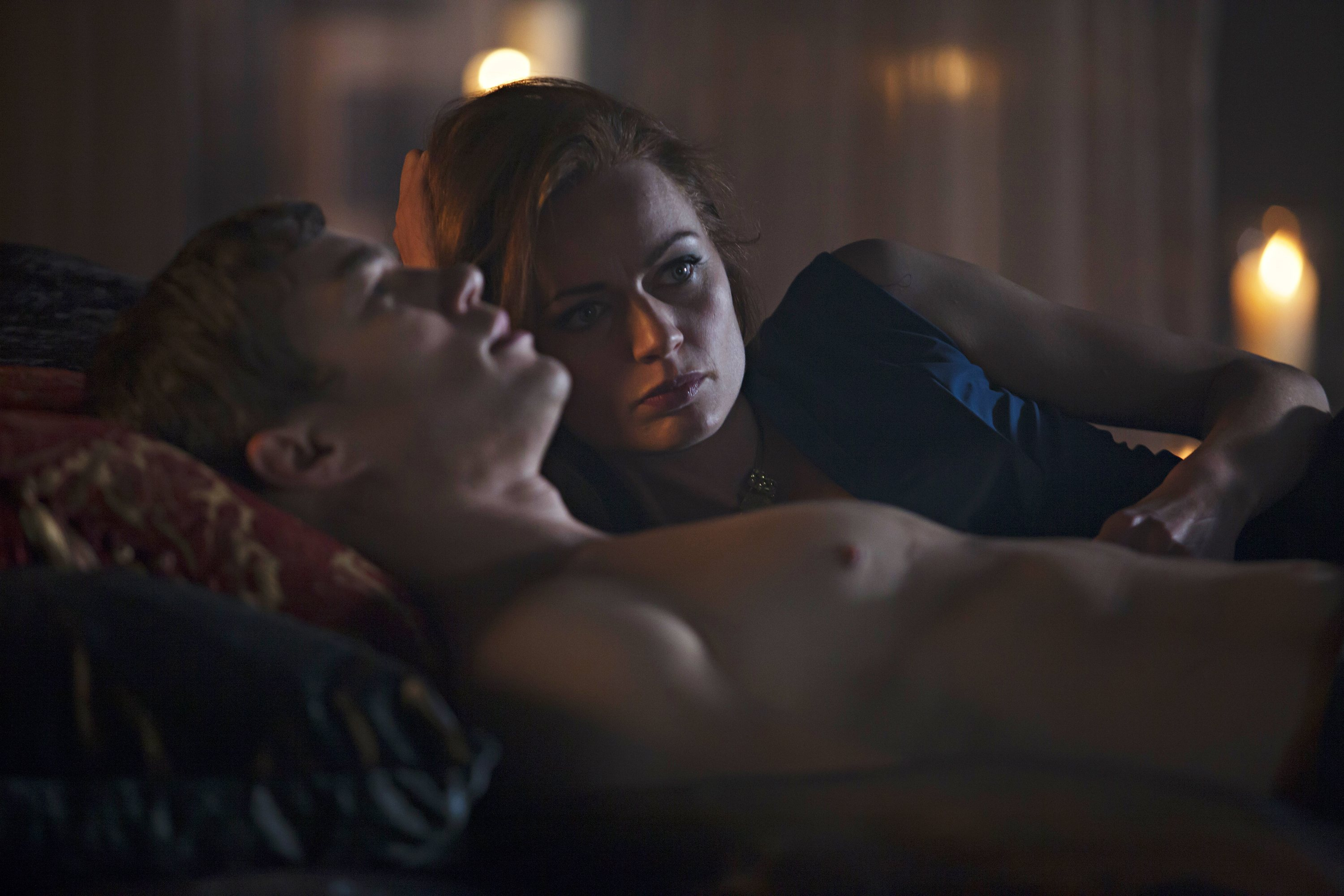 Dominion: Rosalind Halstead e Tom Wilson nell'episodio The Flood