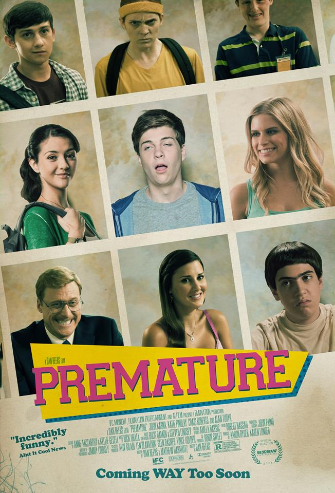 Premature: la locandina internazionale del film