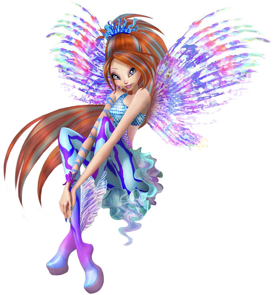 Winx Club - Il mistero degli abissi: la fatina volante Bloom in una foto promozionale