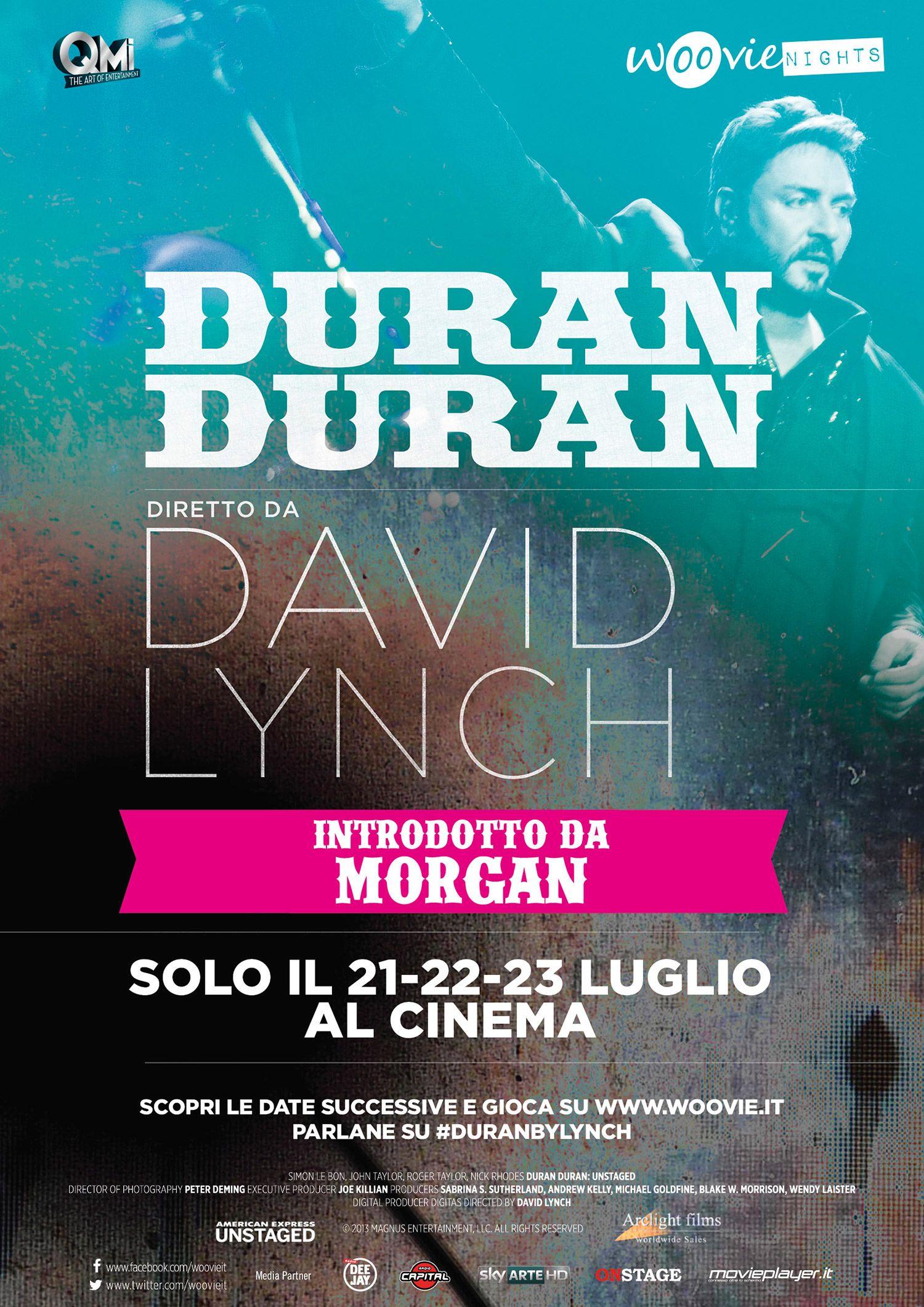 Locandina italiana di Duran Duran: Unstaged