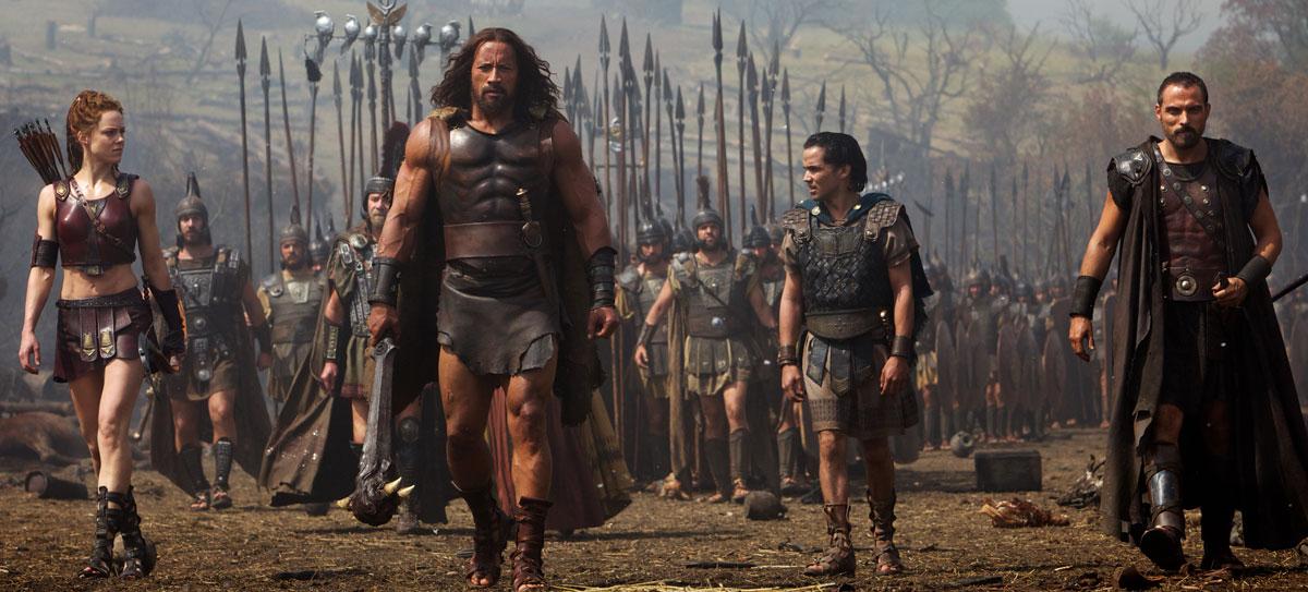 Una scena di gruppo tratta dal kolossal Hercules - Il Guerriero
