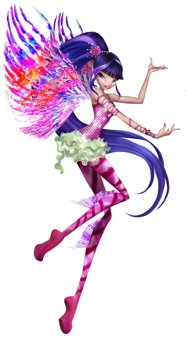 Winx Club - Il mistero degli abissi: Musa, la fatina dai capelli blu, in una foto promozionale