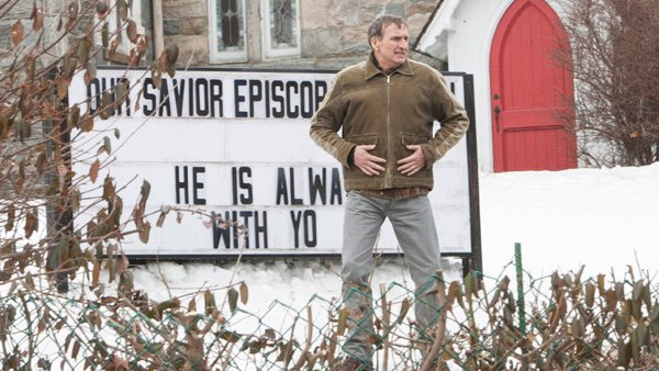 The Leftovers: Christopher Eccleston in una scena dell'episodio Two Boats and a Helicopter