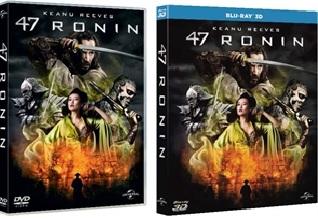 Le cover homevideo di 47 Ronin