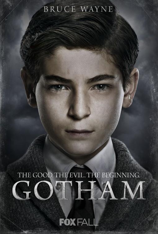 Gotham: character poster per David Mazouz