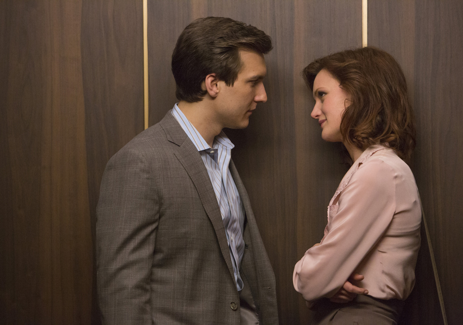 Halt and Catch Fire: Kerry Bishé e Scott Michael Foster nell'episodio Giant