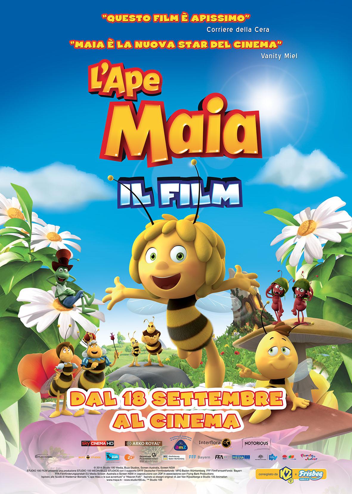 Locandina di L'ape Maia - Il film