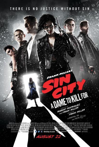 Sin City - Una donna per cui uccidere: il nuovo poster originale