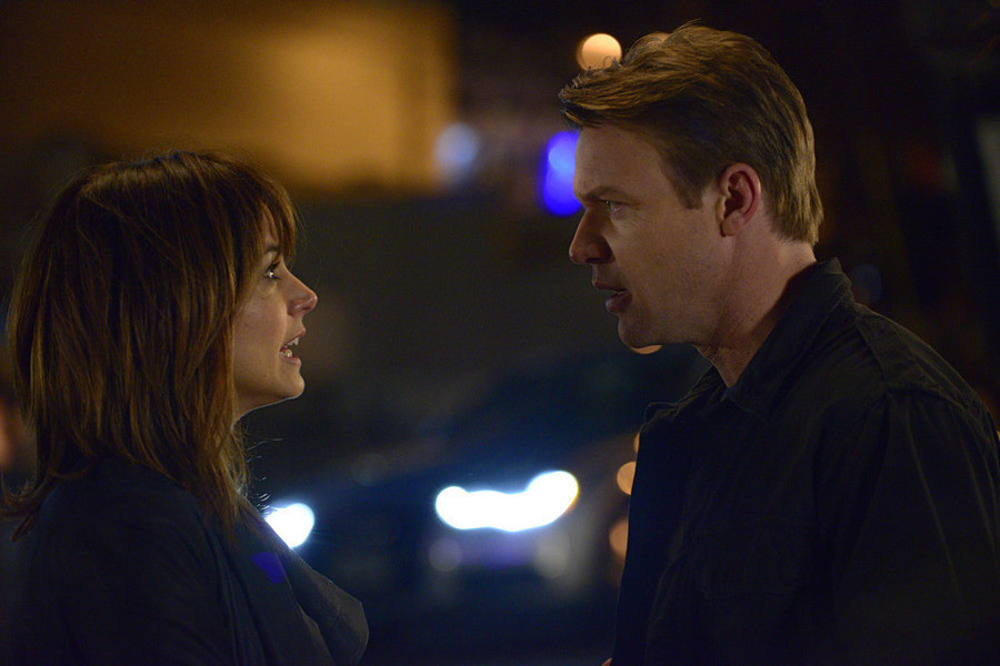 Satisfaction: Matt Passmore con Stephanie Szostak nel pilot