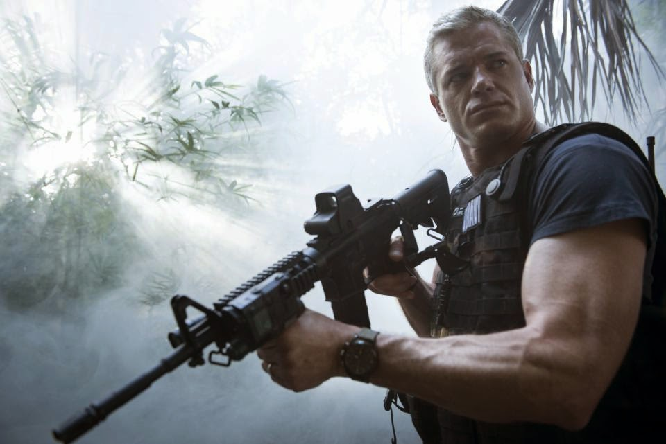 The Last Ship: Eric Dane in una scena dell'episodio El Toro