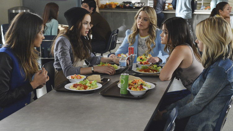 Pretty Little Liars: le Liars nell'episodio Run, Ali, Run