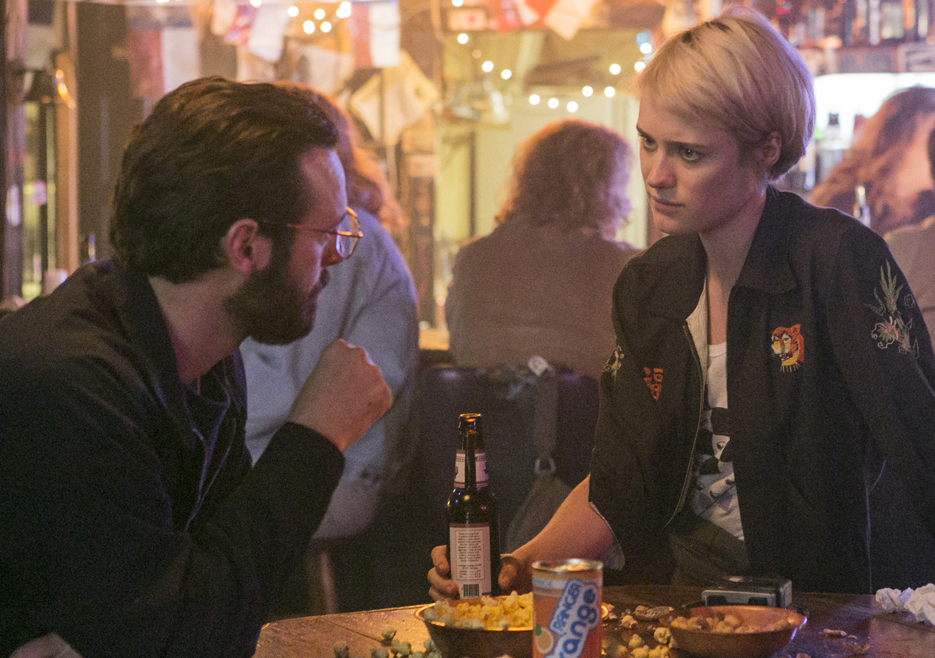 Halt and Catch Fire: Mackenzie Davis e Scoot McNairy nell'episodio The 214s