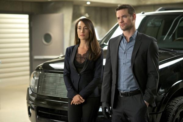 Nikita: Maggie Q e Shane West nell'episodio Blue-Files