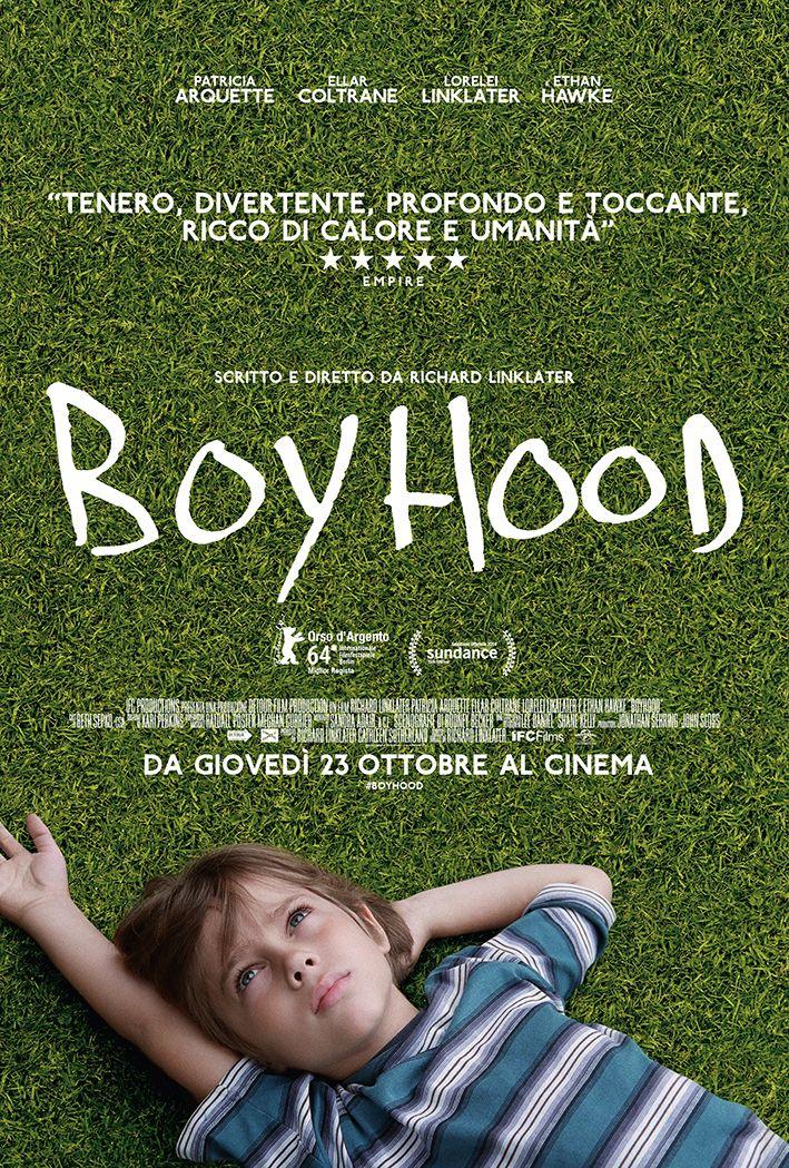 Locandina italiana di Boyhood