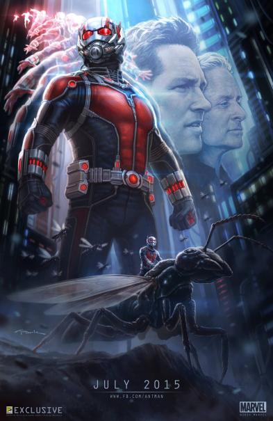 Ant-Man: il San Diego Comic-Con concept art poster