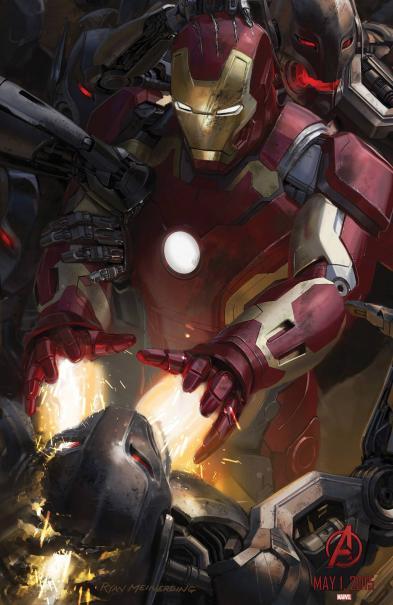 Avengers: Age of Ultron - Il San Diego Comic-Con concept art poster di Iron Man