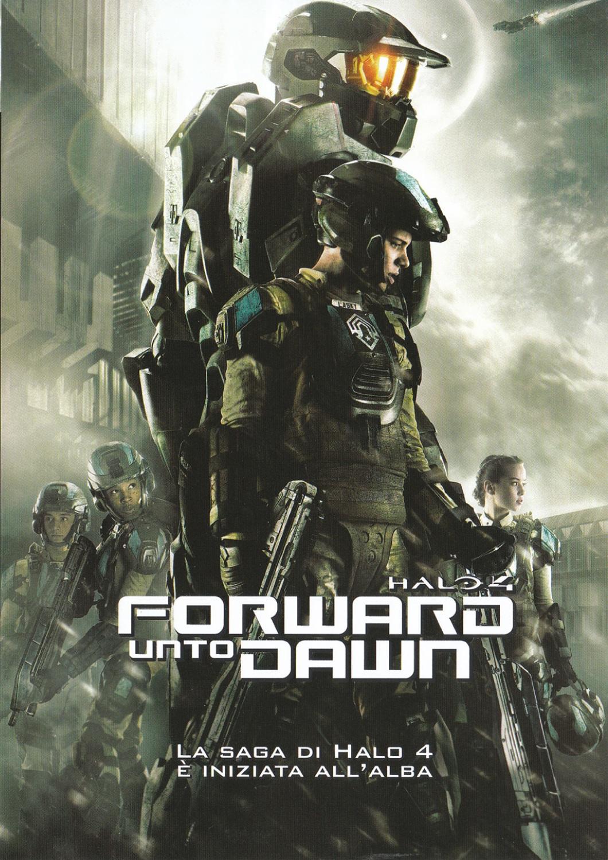 Halo 4: Forward Unto Dawn, una locandina della serie