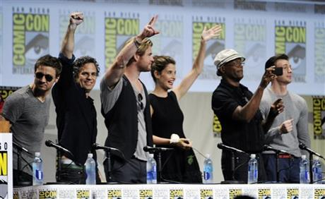 Comic-Con: Marvel Cinema - il cast di Avengers: Age of Ultron