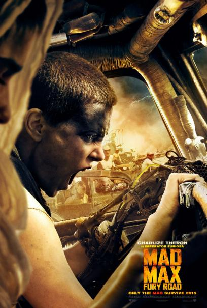 Mad Max: Fury Road - L'urlo di Charlize Theron in un character poster