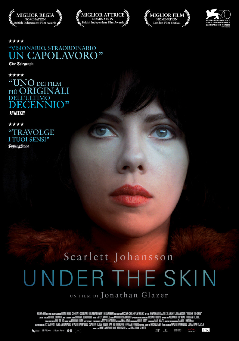 Locandina italiana di Under the Skin