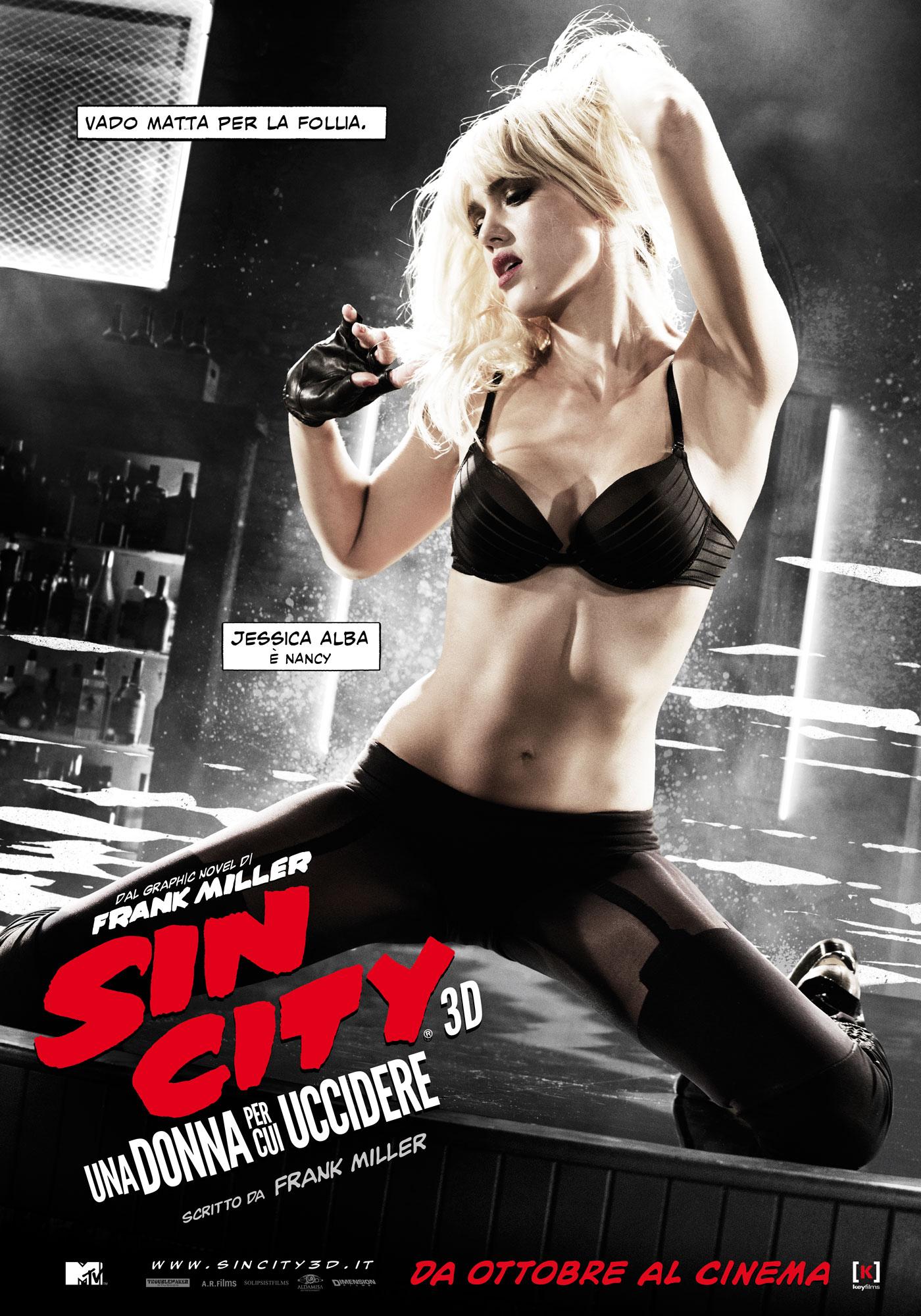 Sin City - Una donna per cui uccidere: il character poster italiano di Jessica Alba