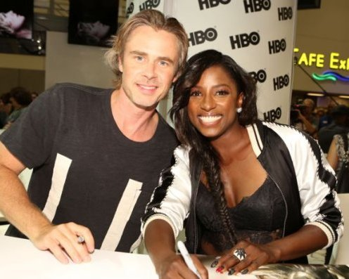 Comic-Con 2014: Sam Trammell e Rutina Wesley di True Blood