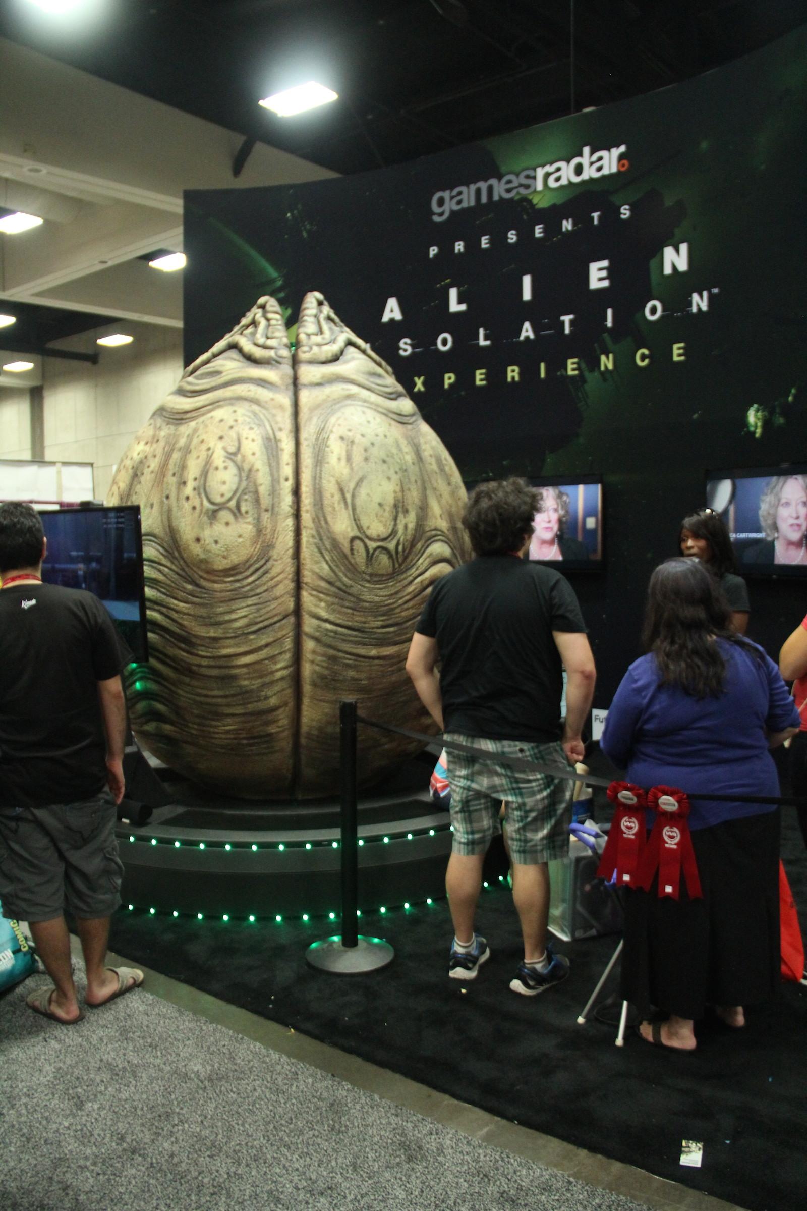 Comic-Con 2014: una scenografia ispirata ad Alien