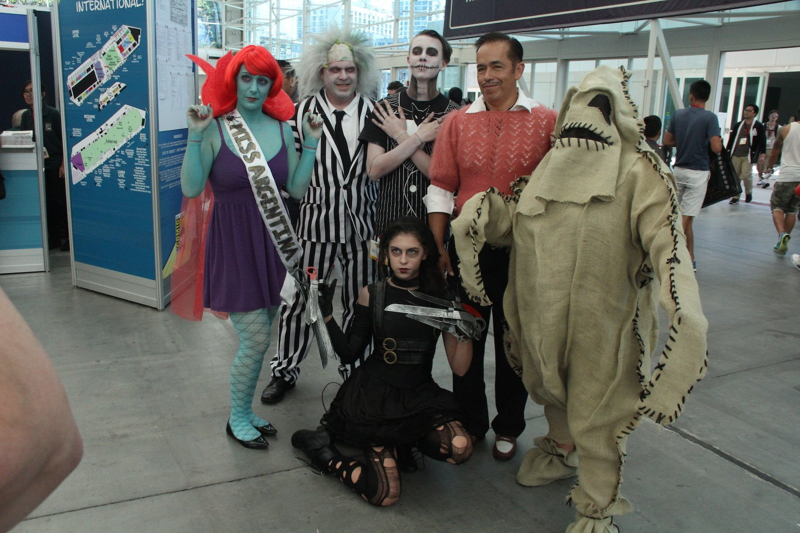 Comic-Con 2014: cosplay di personaggi di Tim Burton
