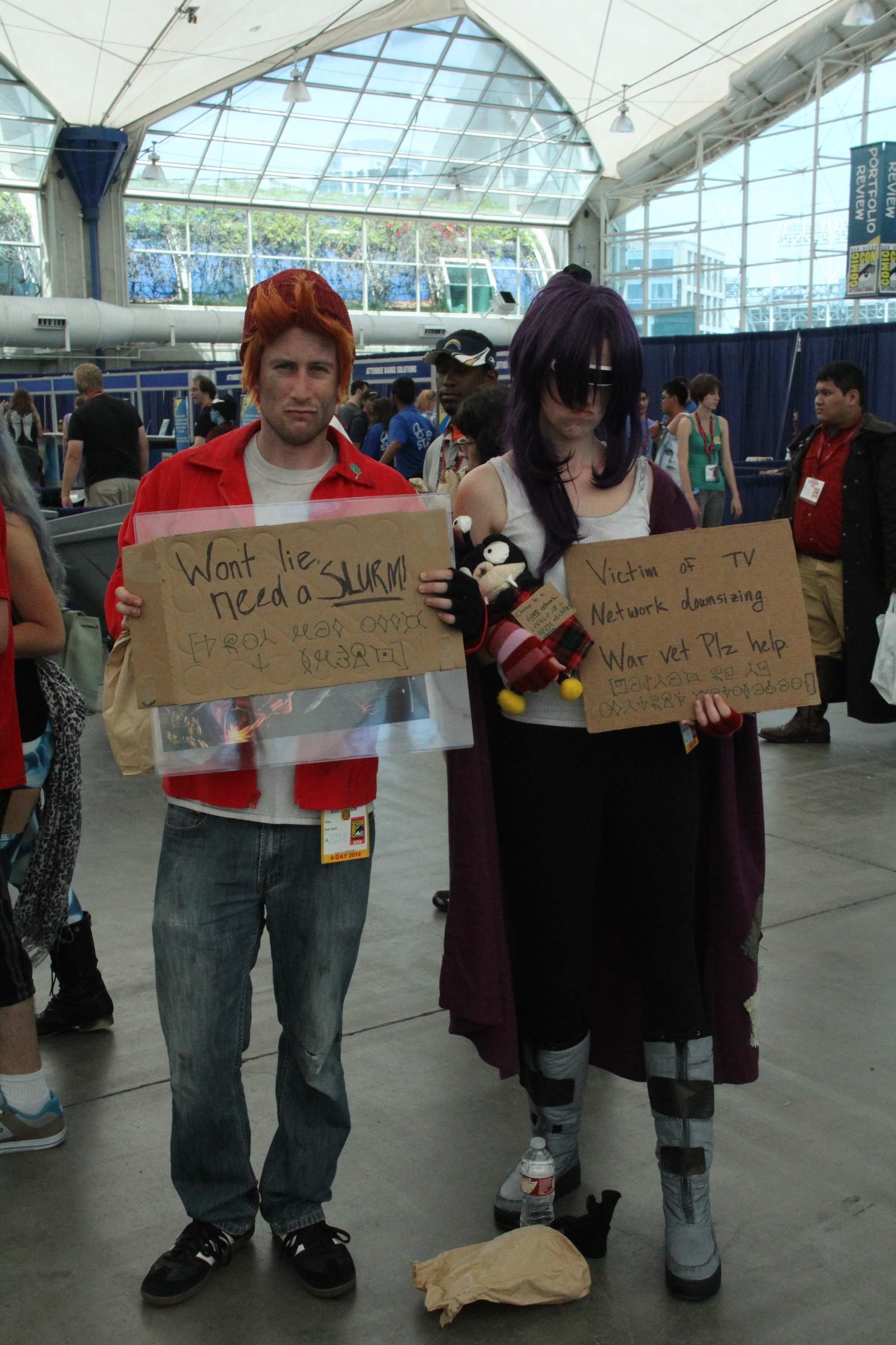Comic-Con 2014: cosplayer in posa a San Diego