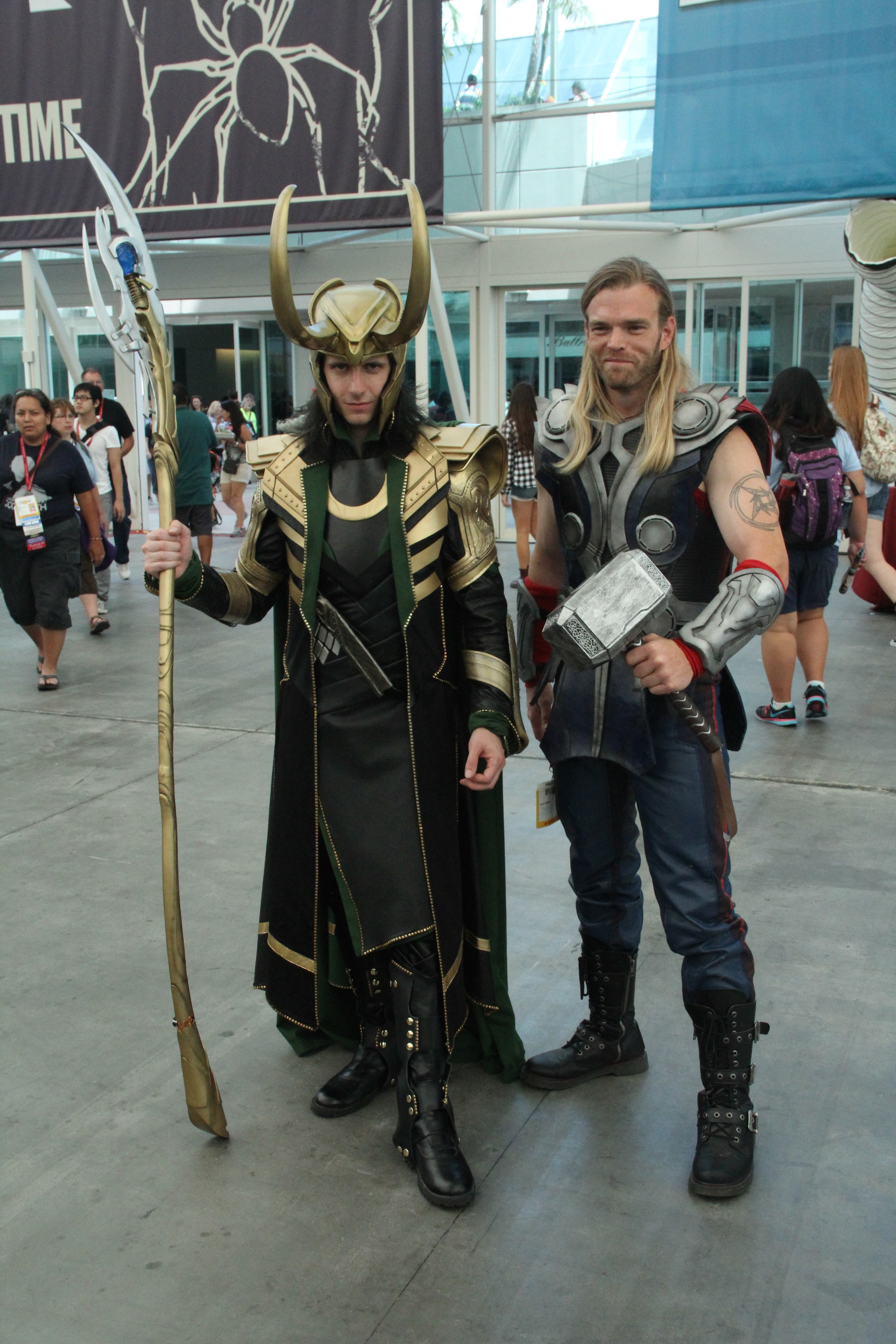 Comic-Con 2014: cosplayer di Thor e Loki