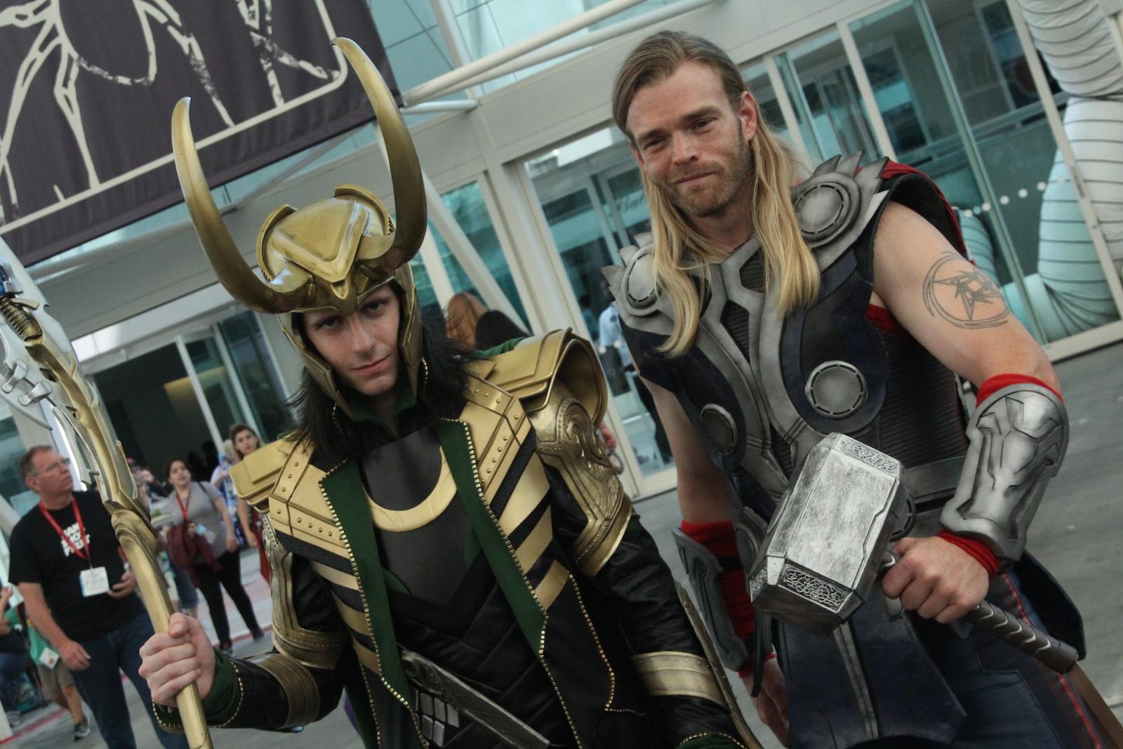 Comic-Con 2014: cosplayer di Thor e Loki a San Diego