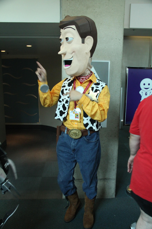 Comic-Con 2014: Woody di Toy Story è tra i cosplay di San Diego