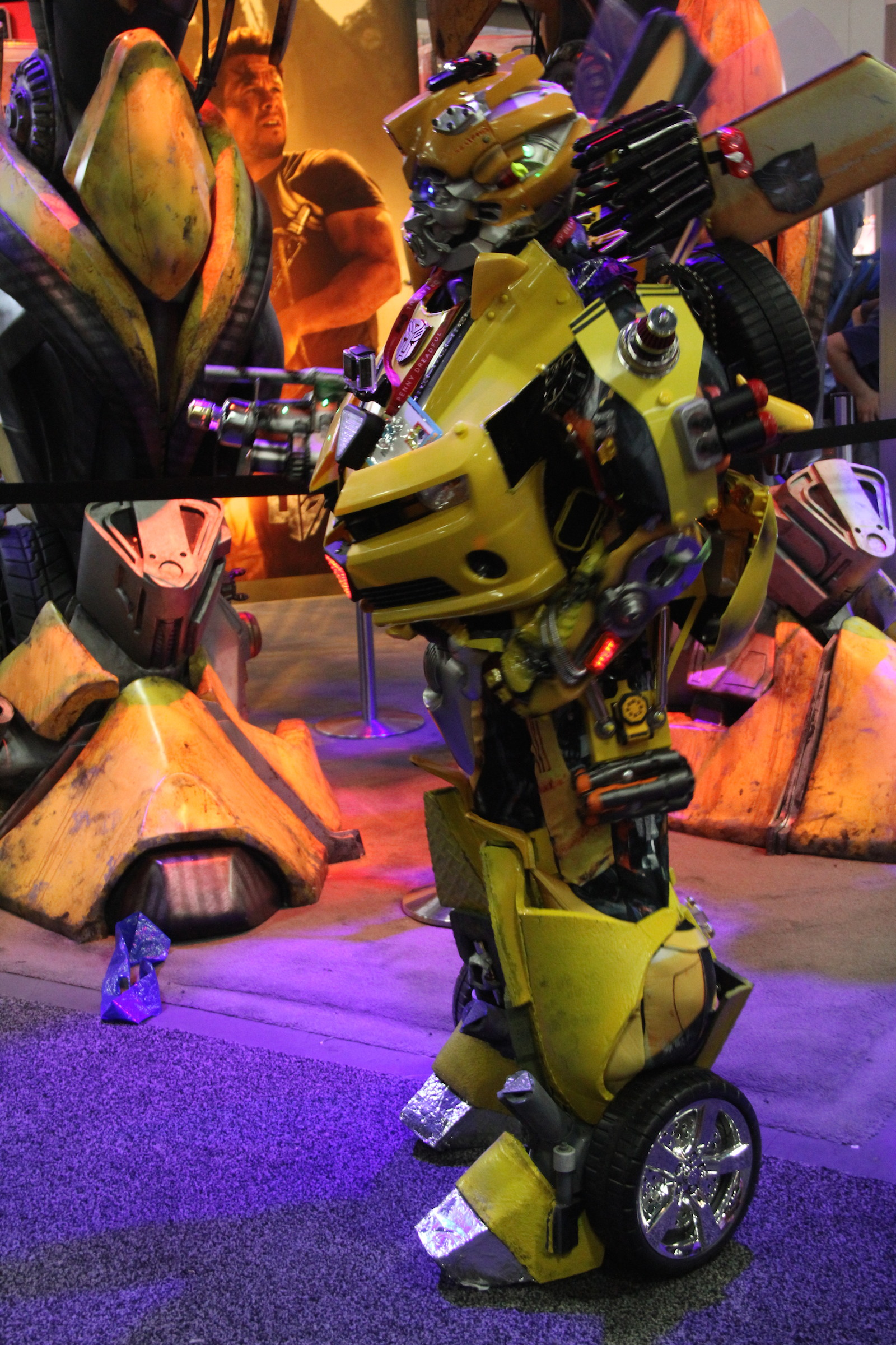 Comic-Con 2014: cosplay di Transformers