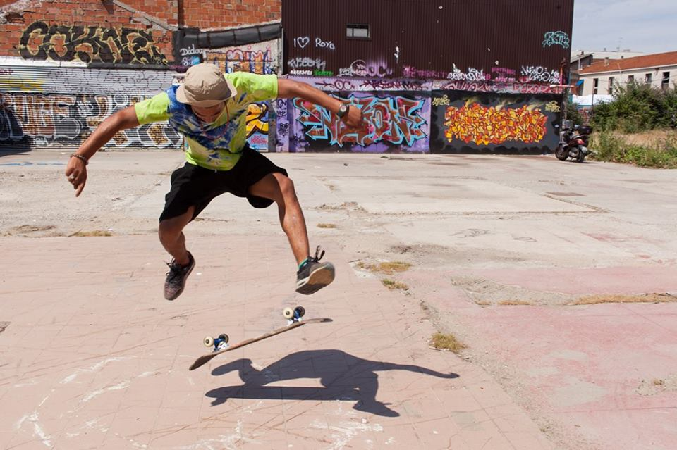 The Smell of Us: uno skater in azione