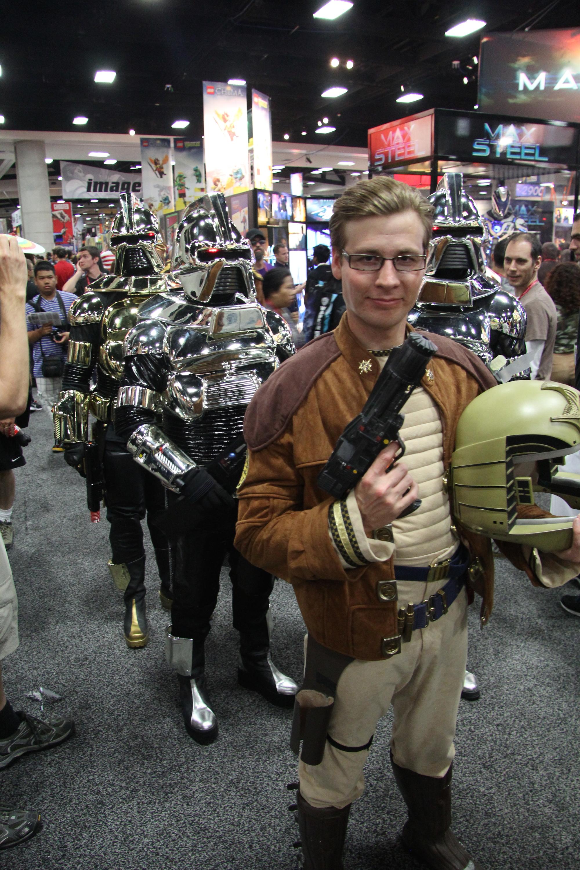 Comic-Con 2014: Cosplay per Starbuck, versione originale