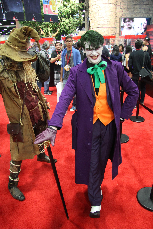 Comic-Con 2014: Cosplay peril Joker