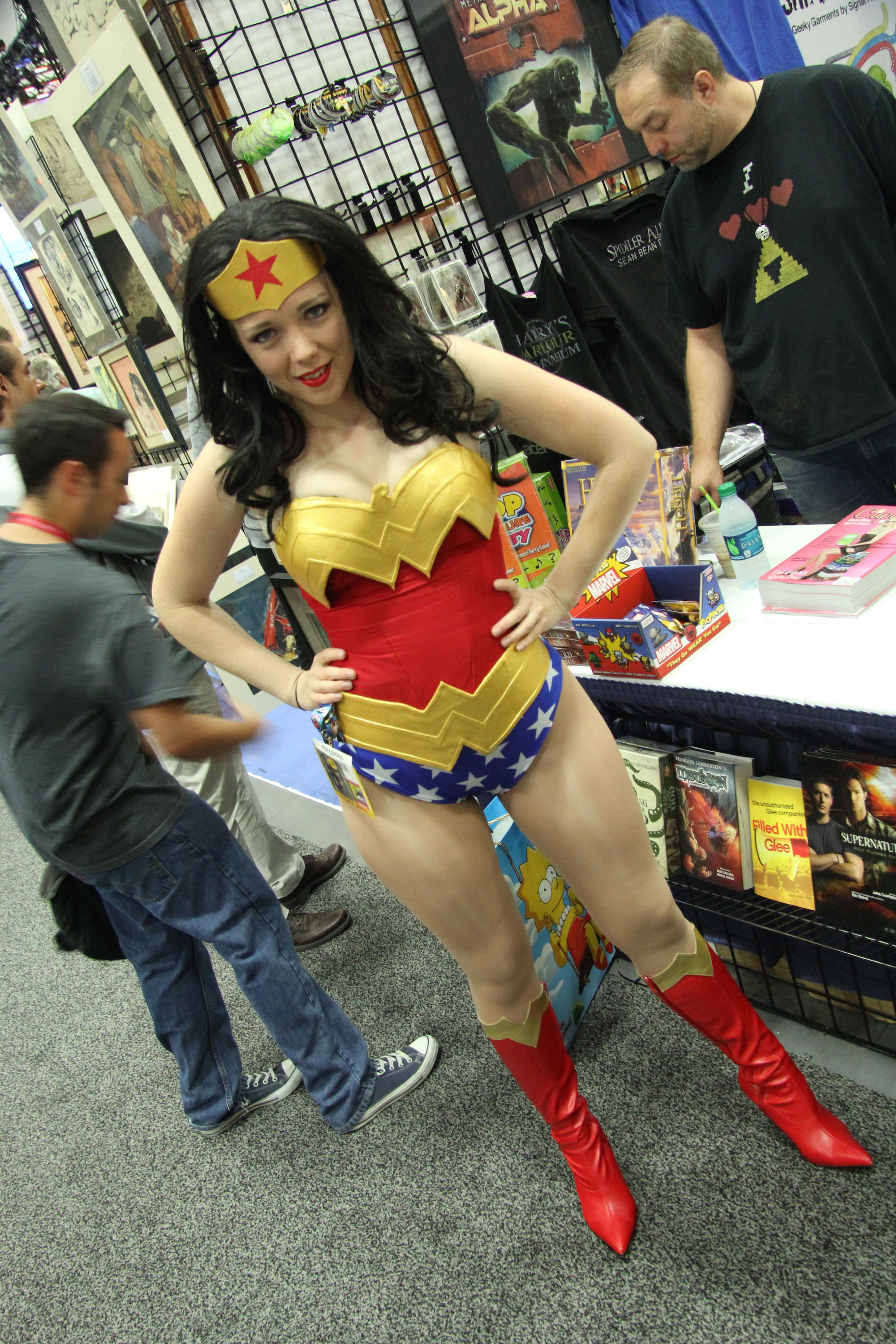 Comic-Con 2014: Cosplay - Wonder Woman