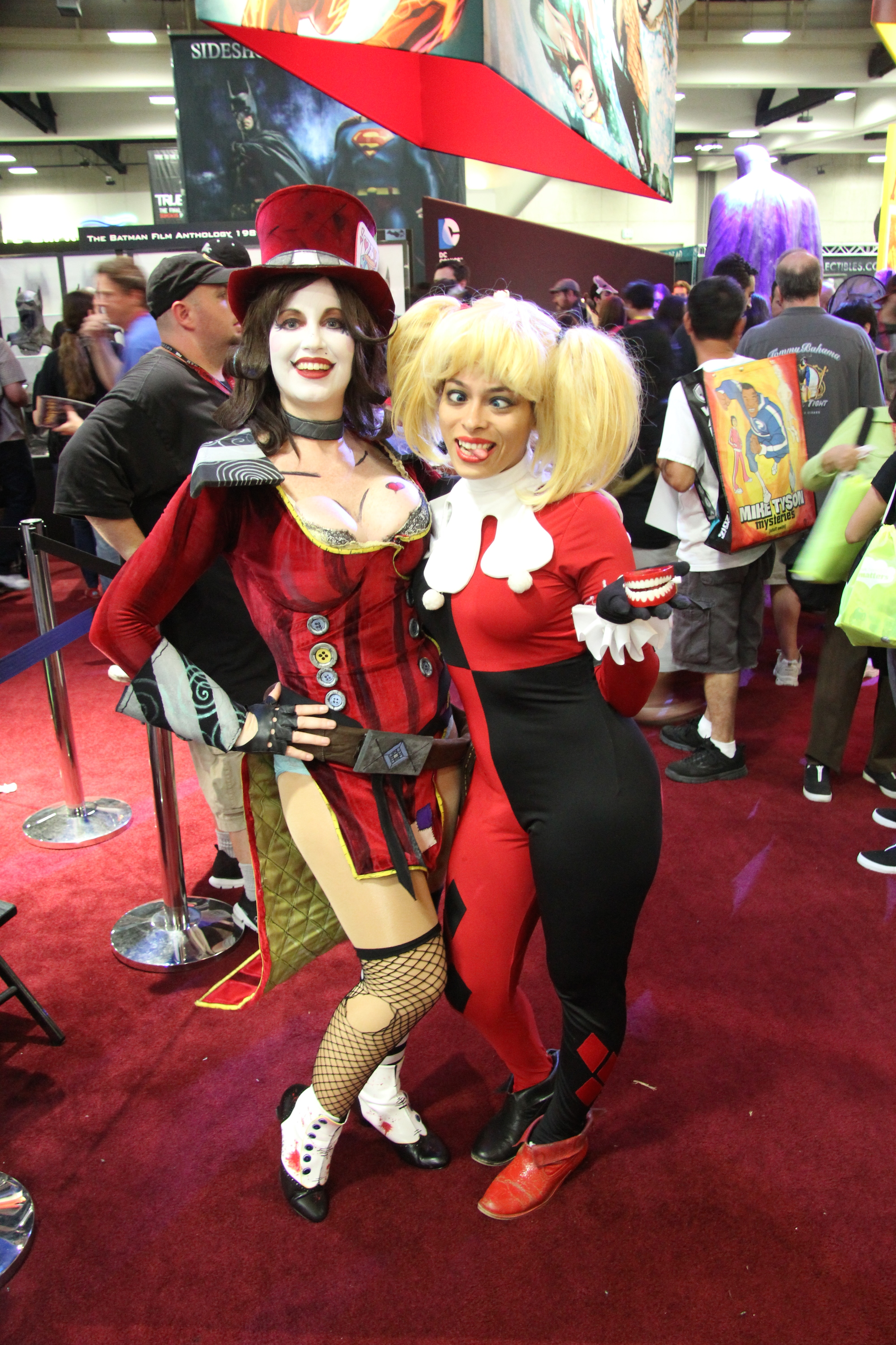 Comic-Con 2014: Cosplay - Mad Hatter e Harley Quinn