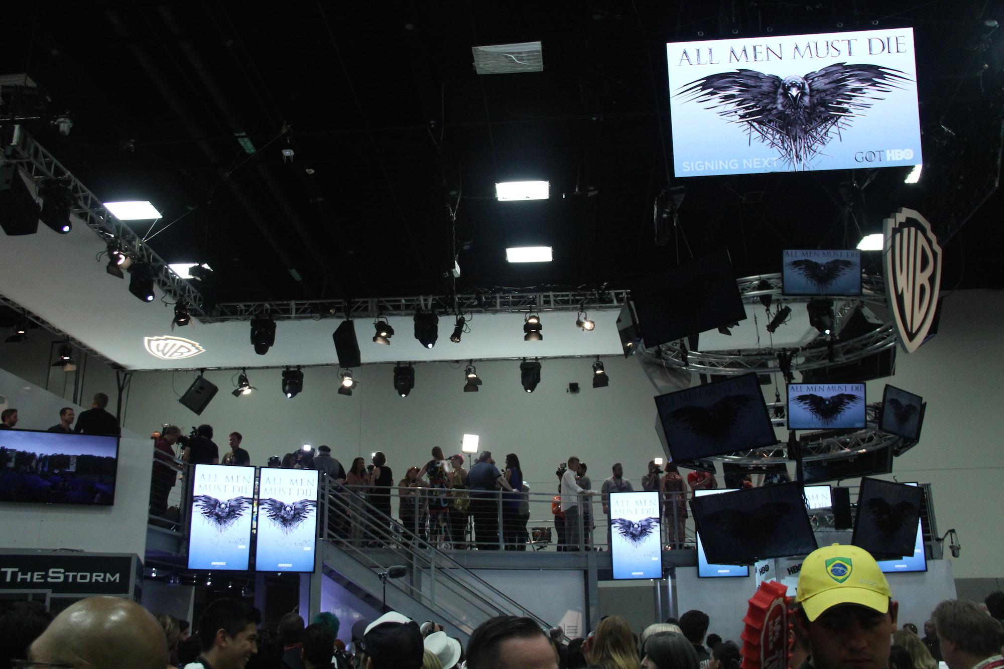 Comic-Con 2014: la sala che ha accolto il panel de Il trono di spade