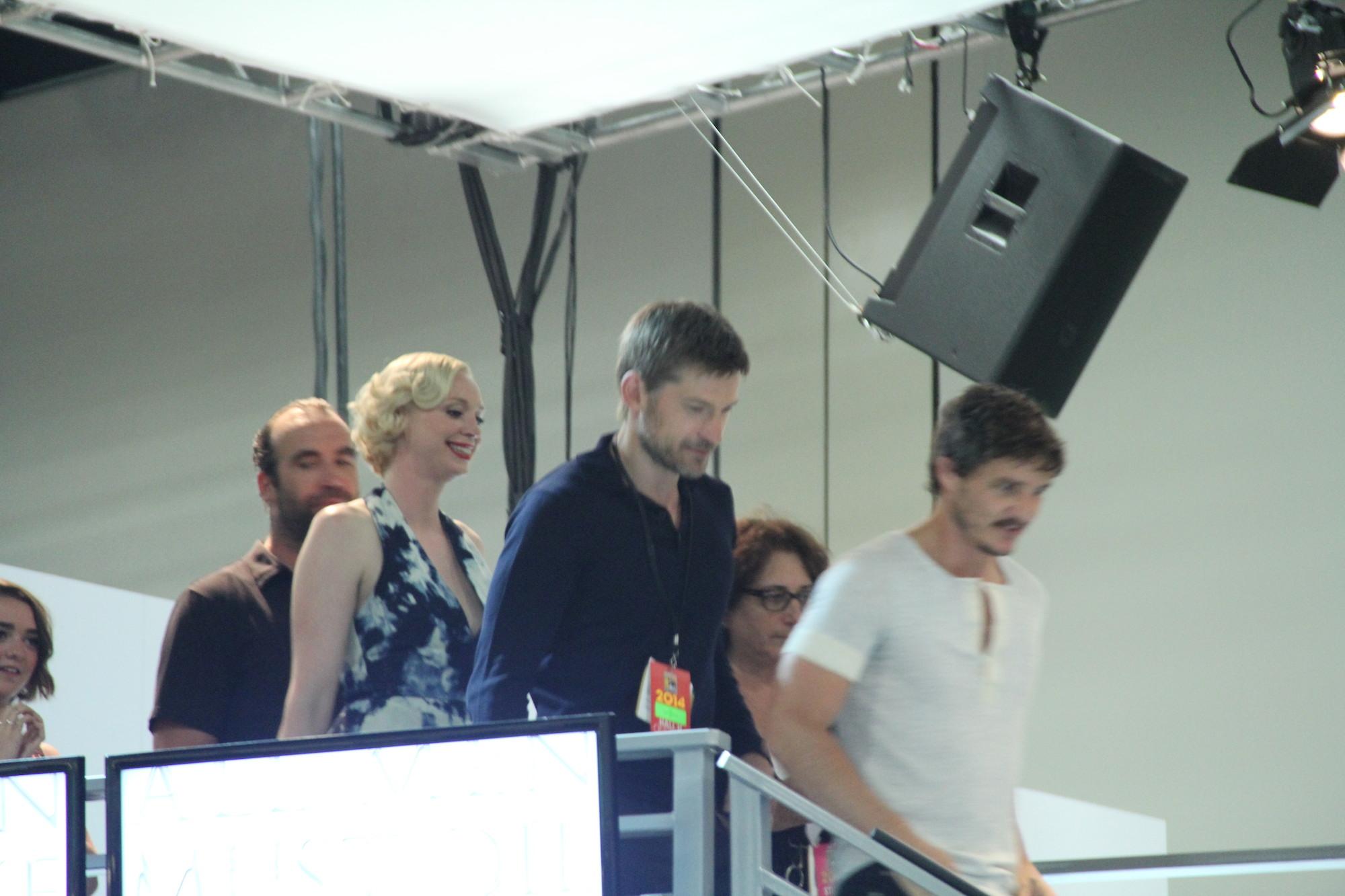 Comic-Con 2014: un'immagine del cast nel panel de Il trono di spade