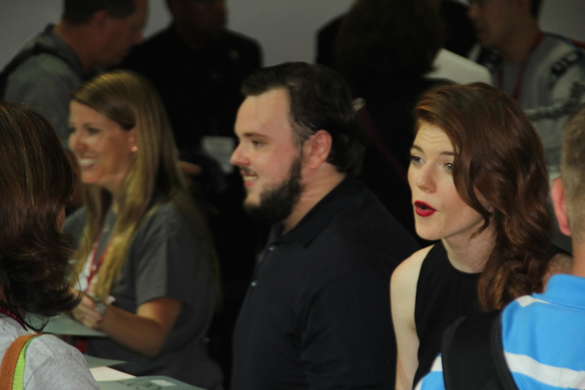Comic-Con 2014: Rose Leslie e John Bradley nel panel de Il trono di spade