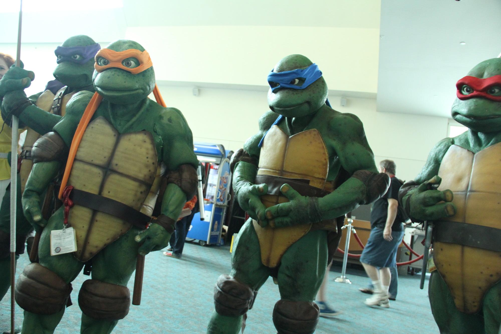 Comic-Con 2014: Cosplay - Donatello, Michelangelo, Raffaello e Leonardo