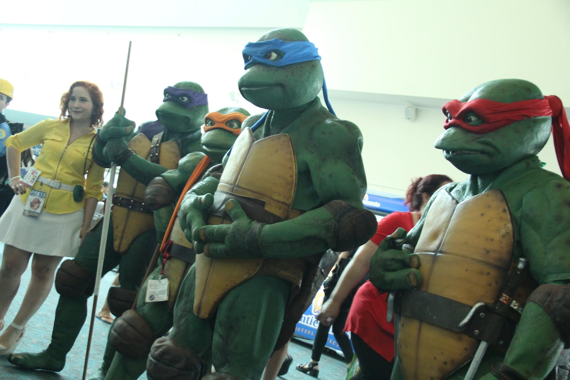 Comic-Con 2014: Cosplay per le Tartarughe Ninja
